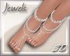 {s} Diamond Jewel Feet