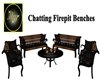 Chatting Firepit Benches
