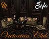 [M] Victorian Club Sofa