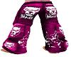 pants mad pink M