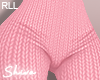 $ Knit Pants Pink RLL