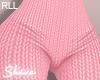 $ Knit Pants Pink RLL