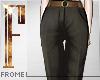 F - Trousers Black