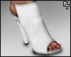 Red Bottom Heels. (Wht)
