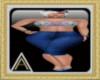 (AL)Crop Jeans N Top M