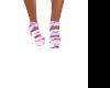 pink/purple marble heels