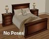 Bed Wood No Poses
