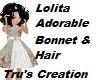 Lolita Bonnet & Hair