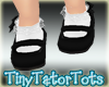 Kids Black MaryJanes