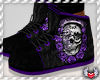 SWA| Rose Skull Shoes Pr