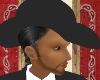 (MSis)DkGray Western Hat