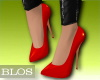 BLOS Red Pumps