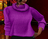 FG~ Purple Turtleneck