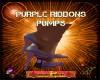 DM:PURPLE RIBBON PUMPS