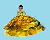 Floral Princess Gown