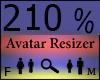 Any Avatar Size,210%%