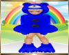 Kids Blue Bear Outfit
