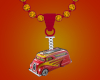 Hot Wheels Necklace