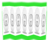 White Gucci Divider
