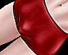 * femboy dark red shorts
