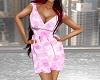 Summer Dress Pink Circle