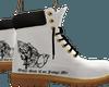 White OGCJM Boots
