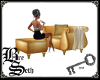 BS* Gold Chair multiPose