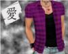 KS- Richy Blouse Purple