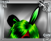 T||Green Bunny Ears Anim