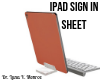 iPad Sign In