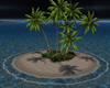 Lovely Island by Night