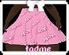 Moschino Skirt pink e
