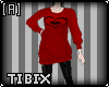 Andro Sweater Red Heart