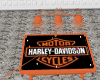 (CH) HARLEY POOLTABLE