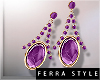 ~F~Vlada Earrings Vio