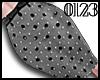 *0123* Gray Dot Skirt