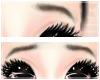 <3 Sad Black Eyebrows