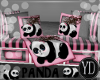 BABY PANDA BENCH