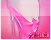 ; Pink Ballet Heels