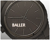 Black Plate Watch