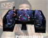 Neon Dance Table Seats
