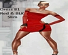 Dress ~ 81 Red & Blk