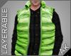 ~AK~ Ski Vest: Green