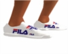 white fila shoes