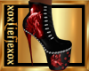 [L] WOLF Red Boots F
