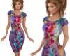 TF* Vibrant Classy Dress