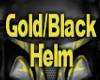 Gold/Black Helm