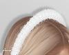 f. thin fur headband