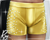 Gold Glam Shorts