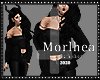 [MLA] Jacket&top black